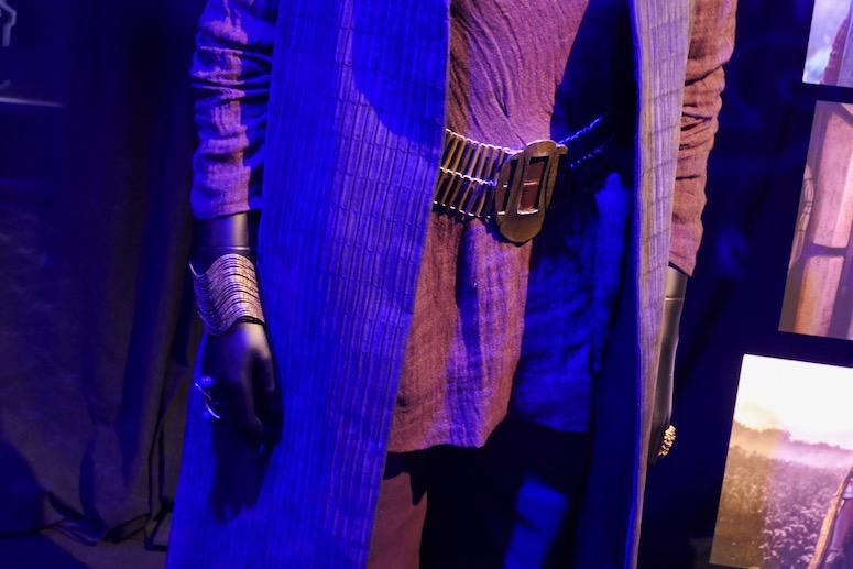 Leia costume detail rise of skywalker