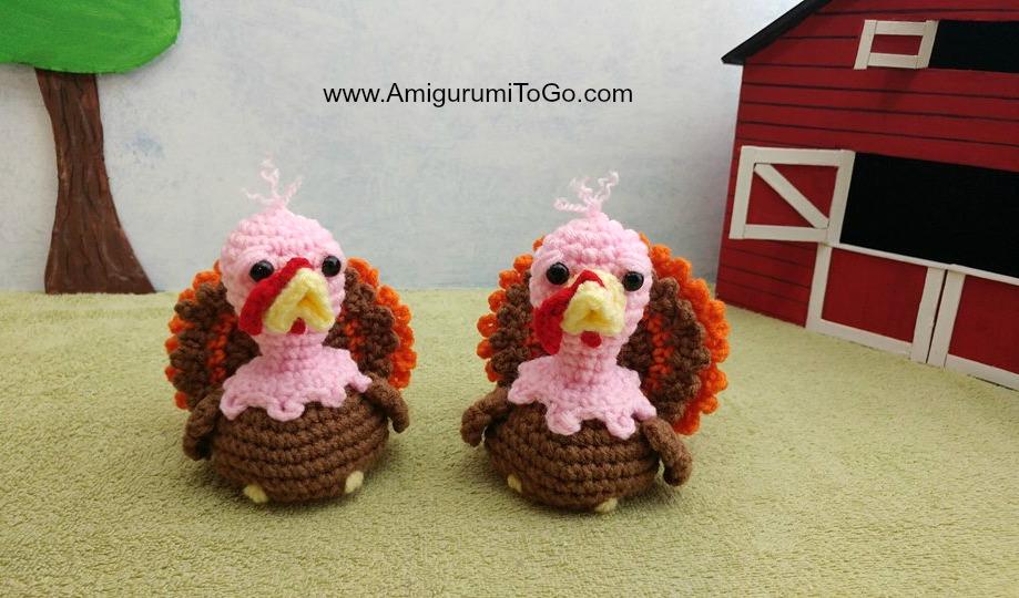 Crochet PATTERN PDF Amigurumi Turkey cute crochet   Etsy   540x919