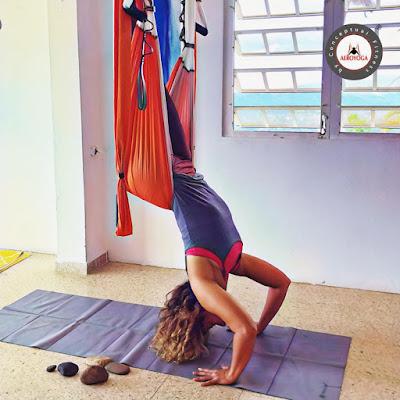 yoga aereo, aeroyoga, yoga aerea, air yoga, aerial yoga, teacher training, formacion, certificacion, acreditacion, profesorado, maestria, instructor, suspension, yoga swing