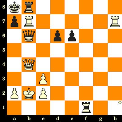 Les Blancs jouent et matent en 3 coups - Nigel Short vs Juergen Fleck, Allemagne, 1986