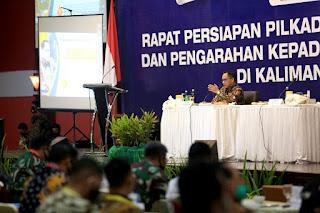 Rapat Persiapan Pilkada Serentak Tahun 2020 dan Pengarahan Kepada Gugus Tugas Covid-19 - Tarakan Info