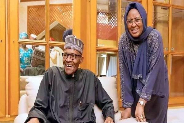 Buhari and Aisha in London