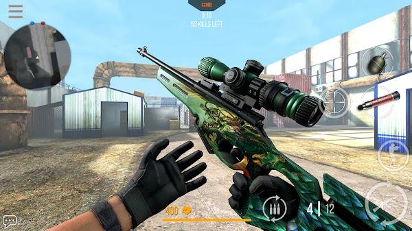 Modern Strike Online (MOD, Unlimited Ammo/Menu)