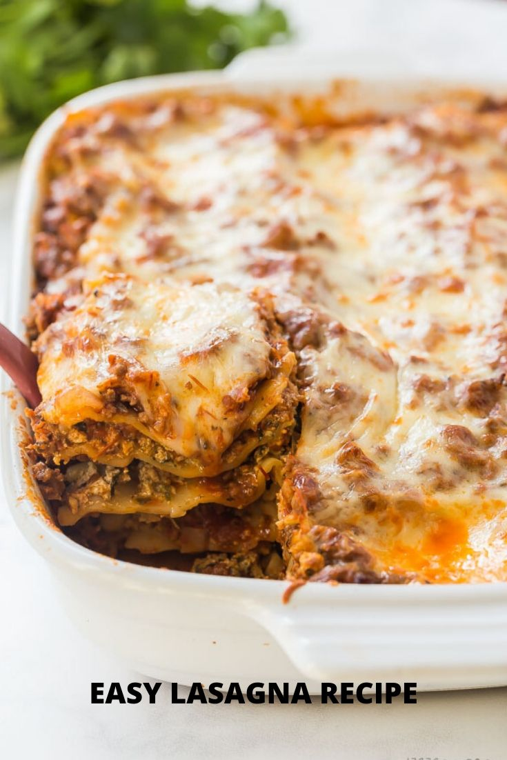 EASY LASAGNA RECIPE