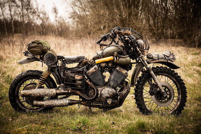 Real life version of Deacon's bike from the Playstation game Days Gone