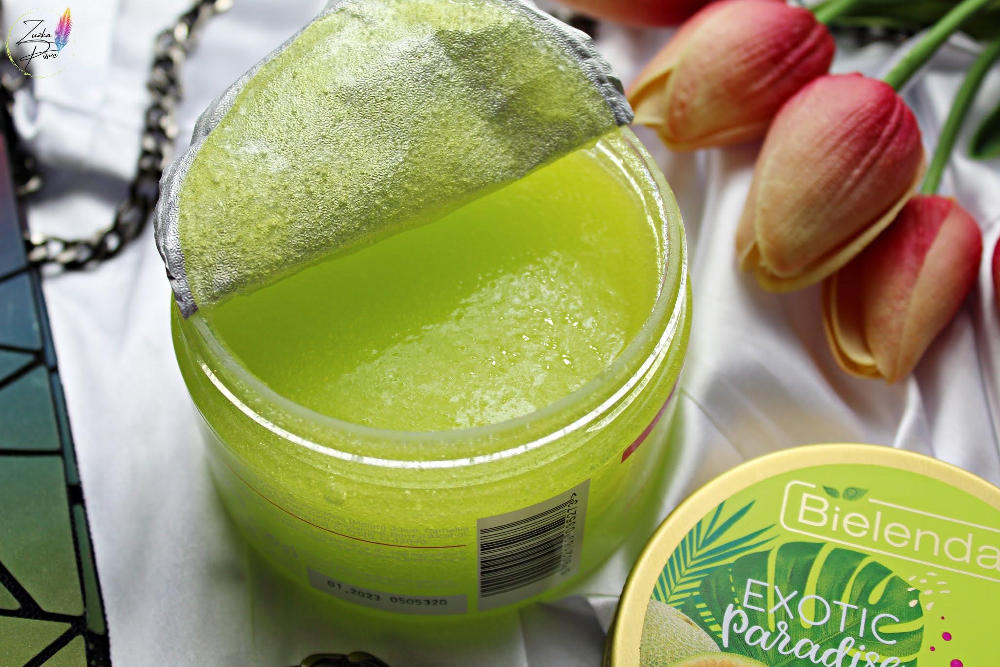 Bielenda Exotic Paradise Melon - cukrowy peeling nawilżający
