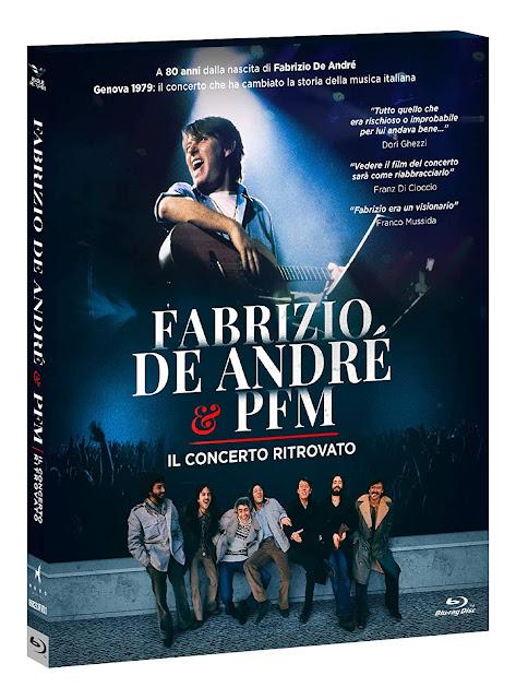 Fabrizio De Andrè & PFM: Il Concerto Ritrovato Home Video