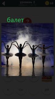 470 слов. все просто танцуют балерины на сцене 2 уровень