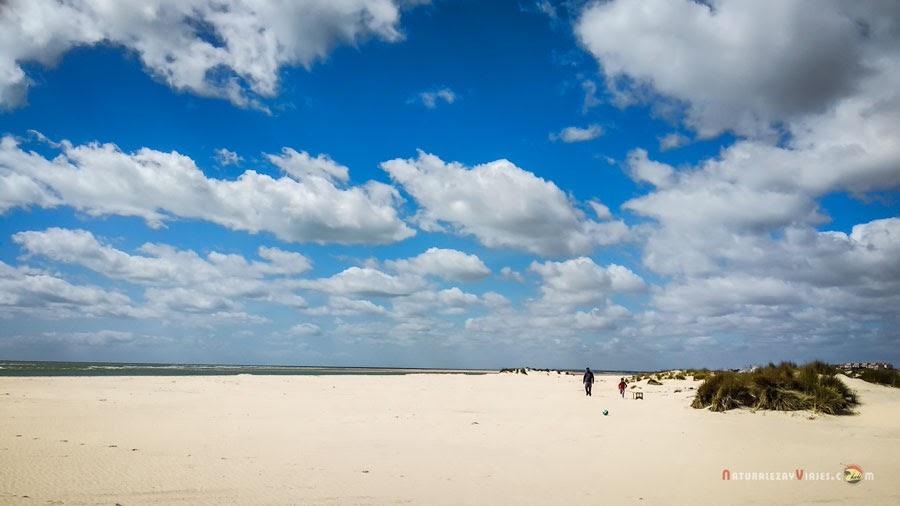 Playa la Bota. Costa de Huelva