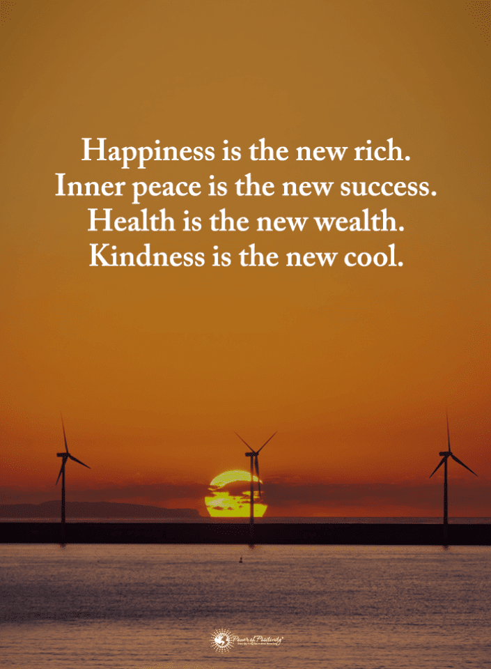 Happiness Is the New Rich Quotes, Inner Peace Quotes, Happiness Quotes, Quotes,