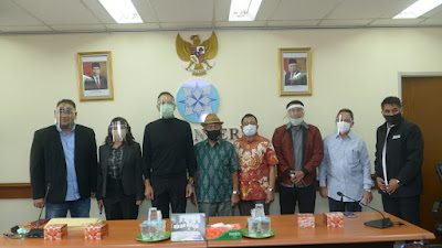 JMSI Resmi Sampaikan Berkas Pendaftaran ke Dewan Pers