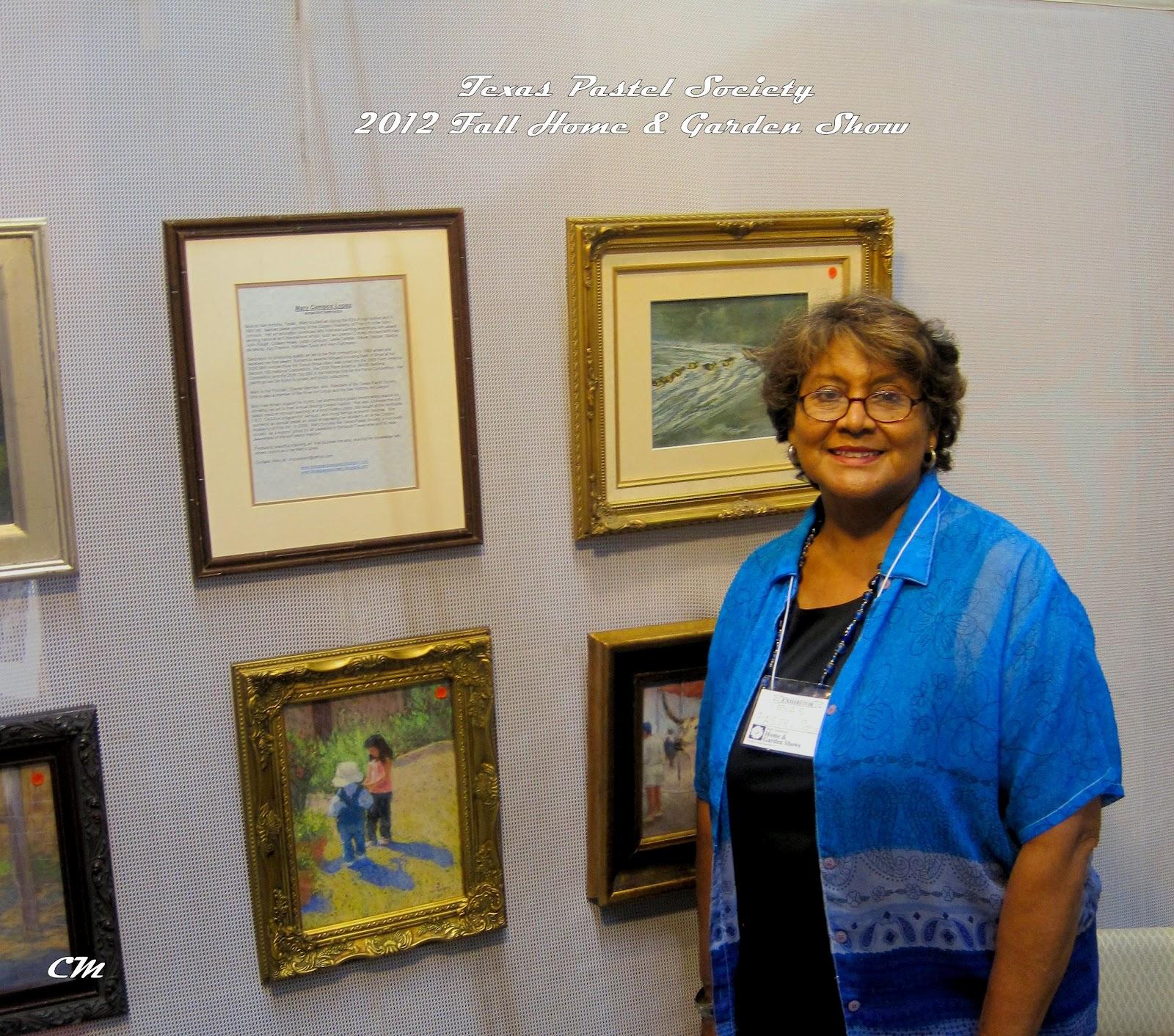Texas Pastel Society News Txps At The San Antonio Home And Garden Show
