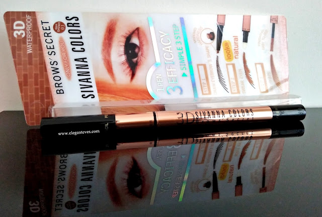 Sivanna Colors 3D Waterproof Brow's Secret (03 Dark Brown)-Review/Swatches