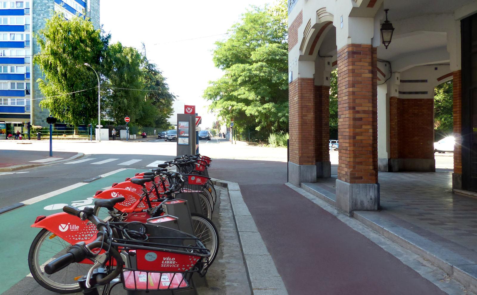Station V'Lille Poste - Tourcoing