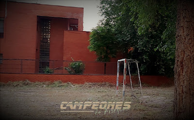 Portería Antigua Fútbol Aranjuez