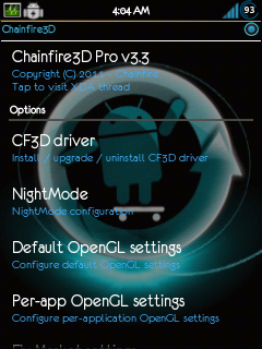 Apps) Chainfire 3D PRO v3 3 for android | iPlayGalaxyY For