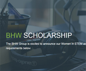 BHW Women in STEM 2018 Academic Scholarship - Apply Here