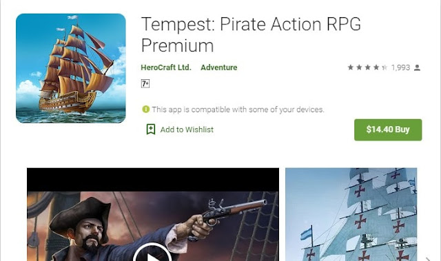 best rpg pirate games for android