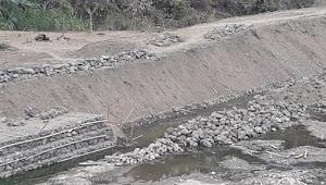 PUPRP Kabupaten Ciamis  Jangan Tutup Mata Dengan Mangkraknya Proteksi Tebing Sungai Cikaso