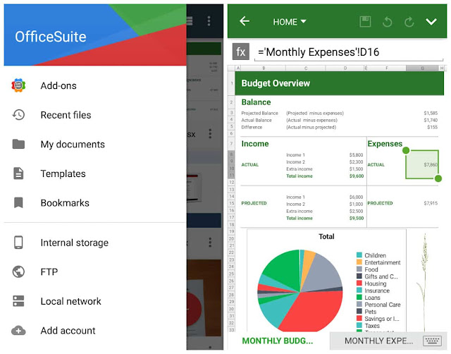 OfficeSuite Premium Full APK 2017 2018