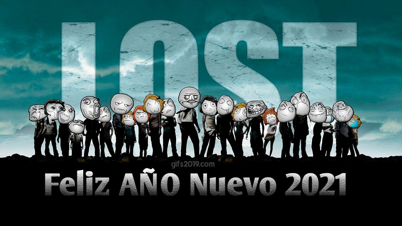 feliz año nuevo 2021 lost