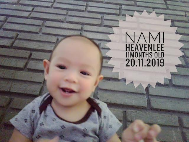 Nami Heavenlee || Jurnal 11 Bulan