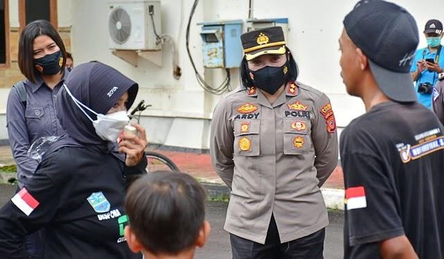 Kapolres Banjar Beserta Walikota Woro-woro Imbauan Prokes