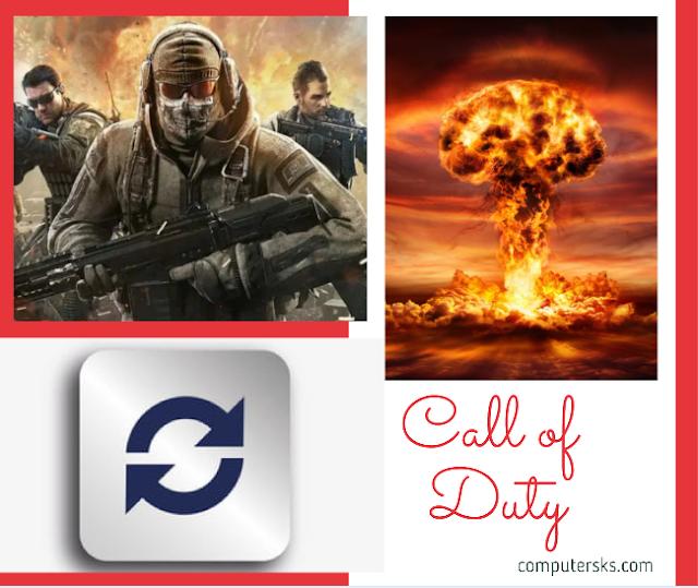 Mise à jour du jeu Call of Duty