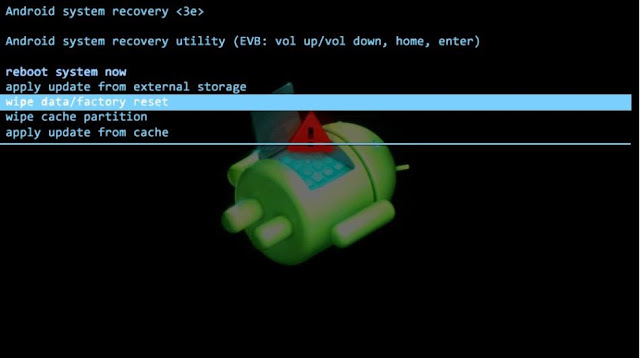 borrar los datos de la tablet emerson em744