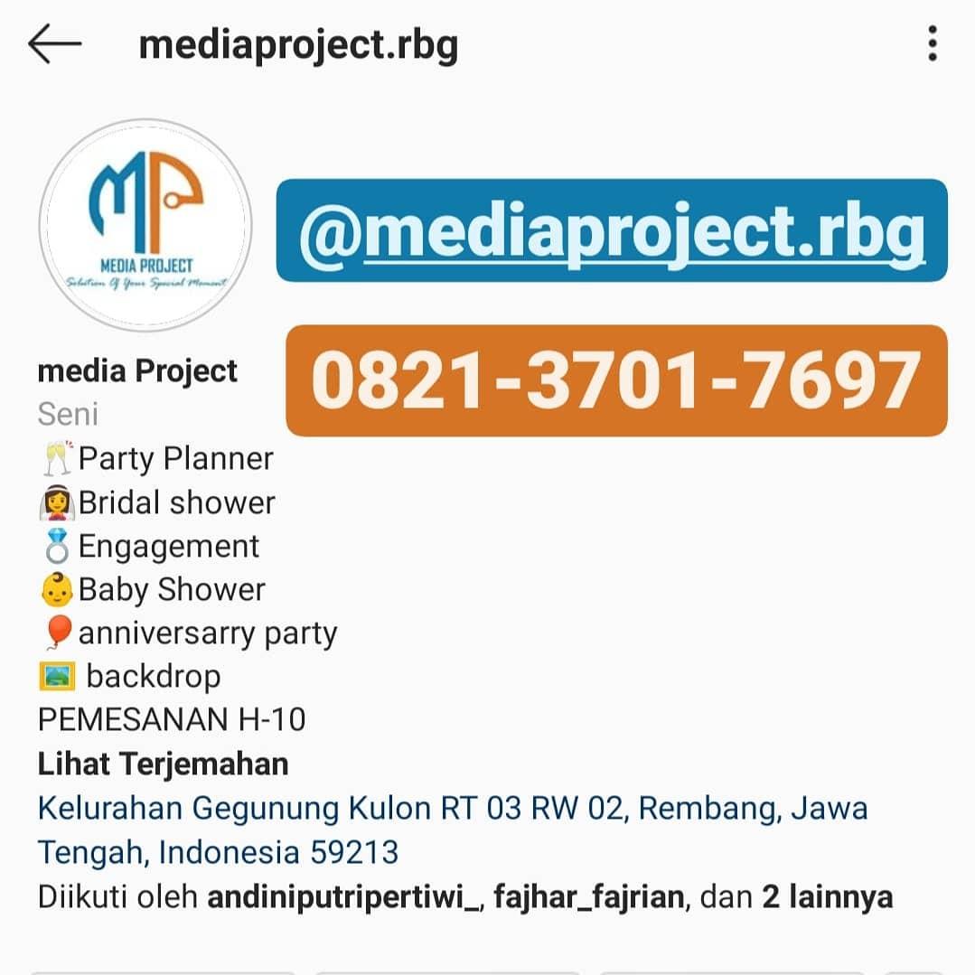 SEKARANG Juga Percayakan Momen Terindahmu Pada Media Project Rembang Pasti PUAS