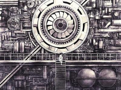 Ilustraciones inspiradoras por artista japonés. http://ryoiwai.gozaru.jp