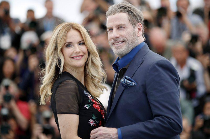 El adiós de Travolta a su esposa de toda la vida