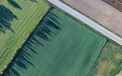 green field aerial view widescreen resolution hd wallpaper