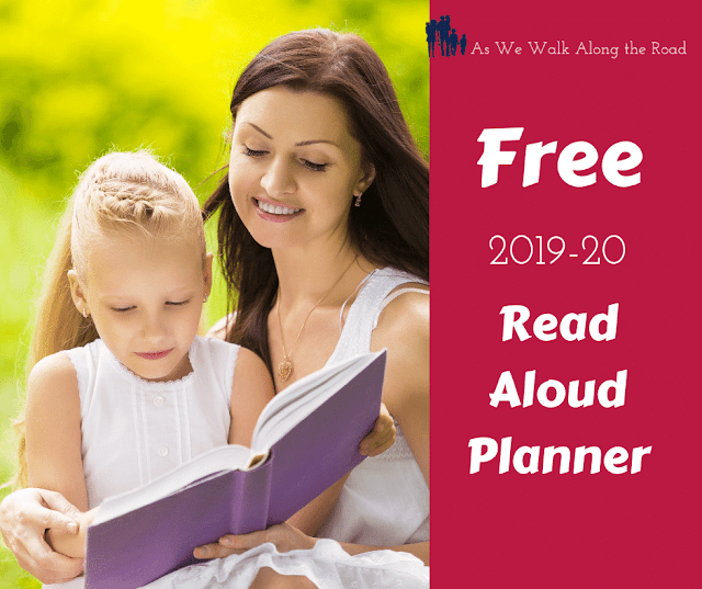 Free read aloud planner