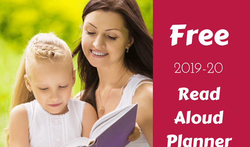 Free Easy-to-Use 2019-20 Read Aloud Planner With Bonus Read Aloud Suggestions