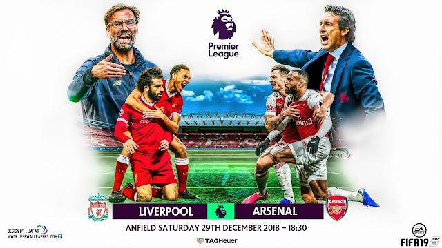 Prediksi Liverpool vs Arsenal, 29 Desember 2018
