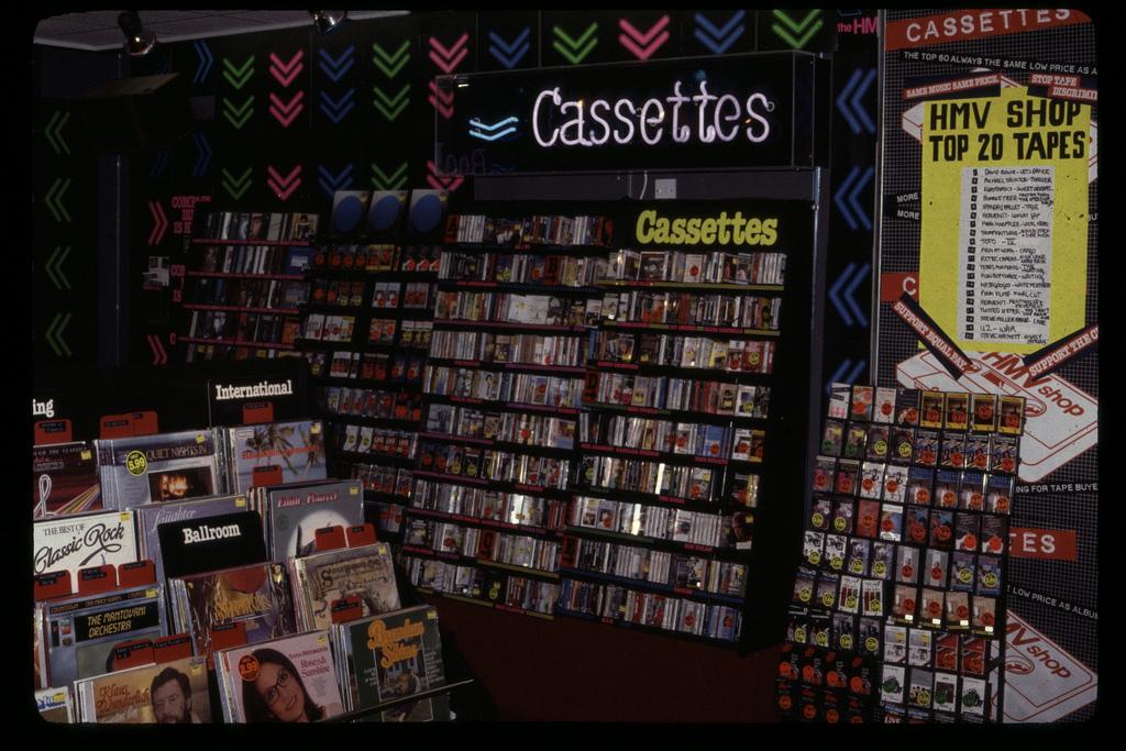 Old record shop p*rn HMV-store-1980s-30