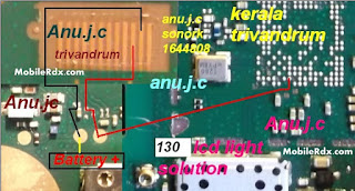 if your device is water damage and everything is okay but lcd light is not working you need to check this line use avo miter if you find any line is broken just reconnect this line use copier coil. i hope fix your device problem.