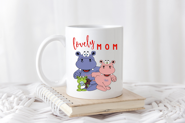 Lalli & Loops Lovely Mum Tasse
