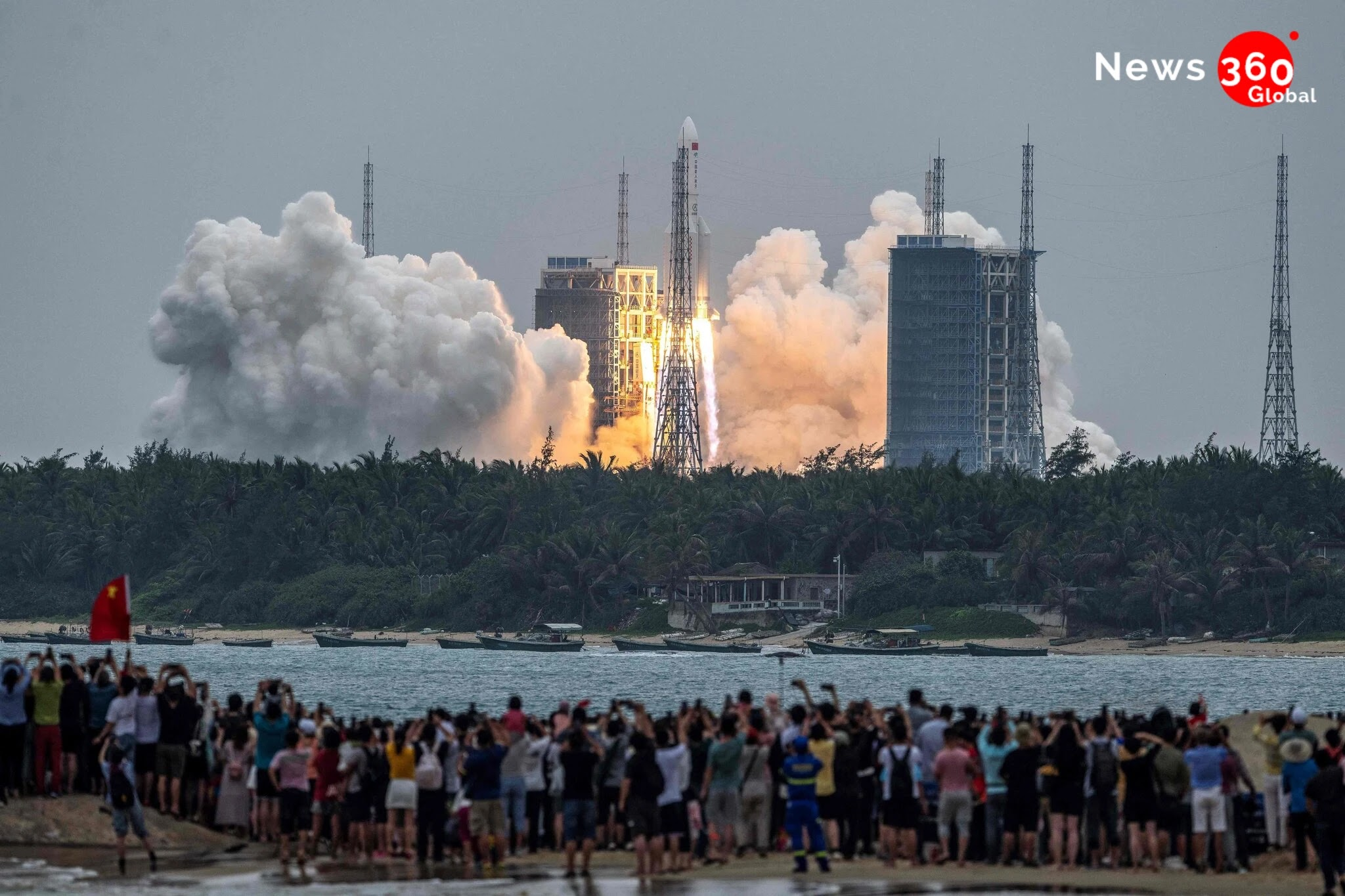 Final mystery of china's uncontrolled rocket. And where it landed?