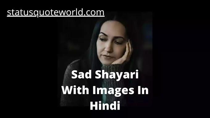 51+ Tiktok Sad Shayari With Image In Hindi Emotional