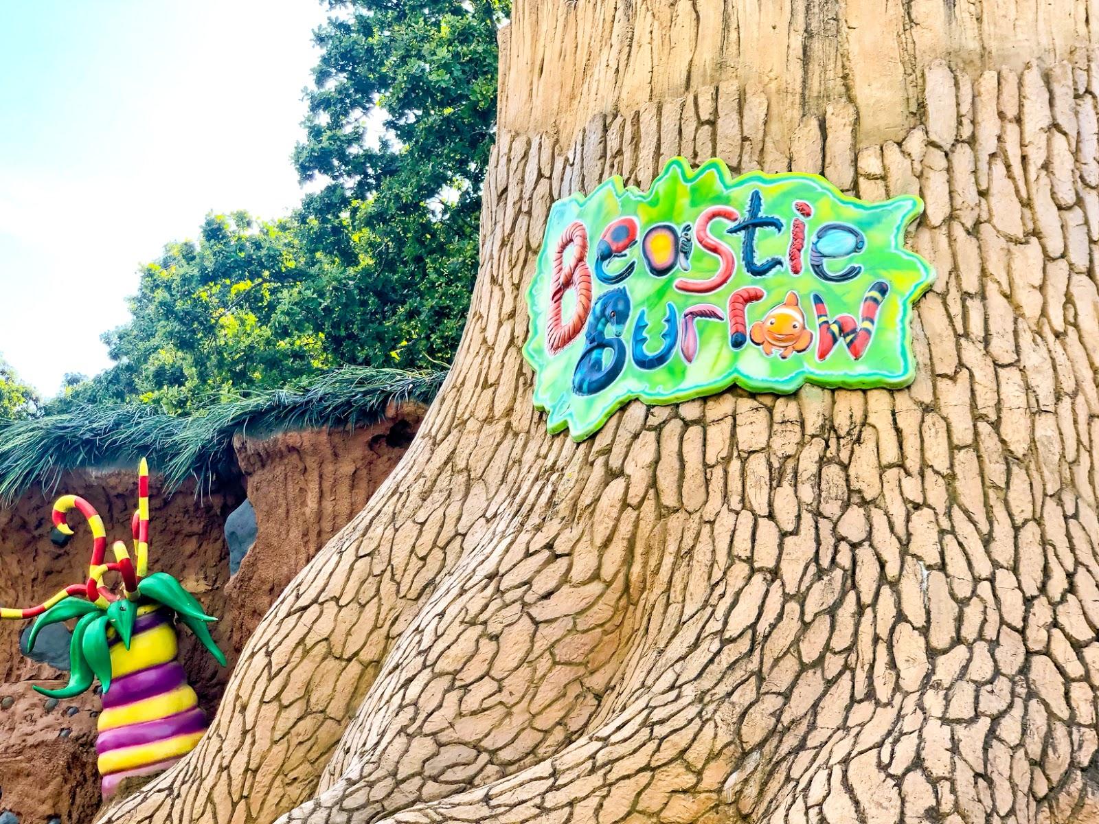beastie burrow, paultons park