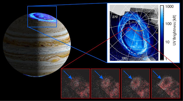 Scientists discover a new auroral feature on Jupiter