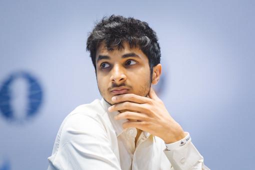 Le joueur d'échecs indien Vidit Santosh Gujrathi (2726) - Photo © Eric Rosen
