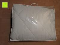 Beutel Rückseite: 4-Jahreszeiten 135x200cm Ganzjahres Bettdecke Steppdecke Steppbett Microfaser mit Druckknöpfen