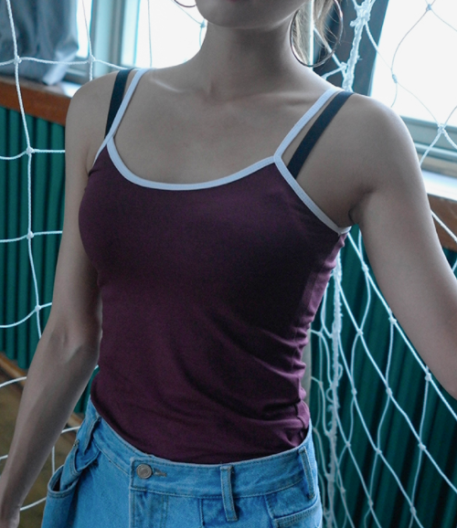 Two-Tone Slim Fit Camisole