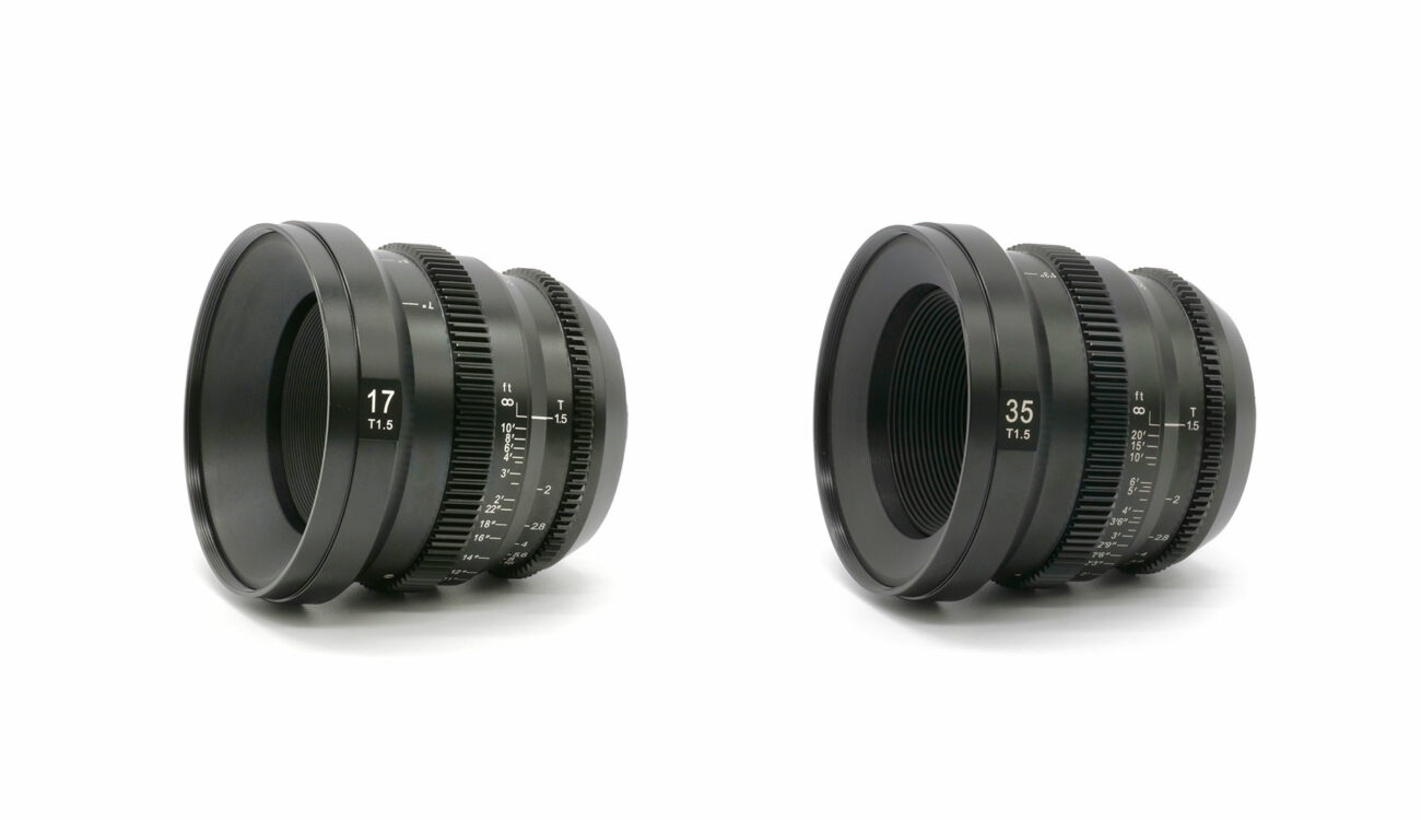 SLR Magic MicroPrime CINE 17mm T1.5 и 35mm T1.5 MFT