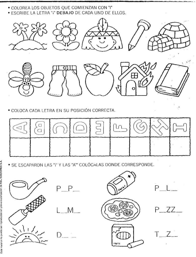 Material Educativo Para Maestros Actividades De Apresto