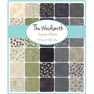 Moda The Wordsmith Fabric by Janet Clare for Moda Fabrics