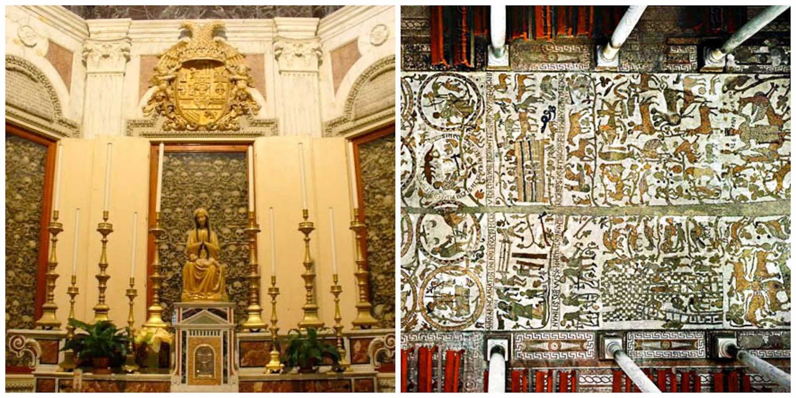 otranto kathedrale mosaik